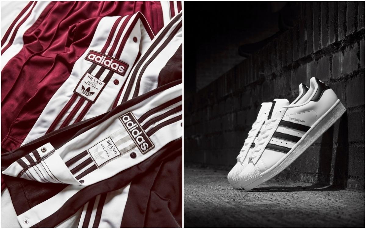 Popper Pants adidas Originals e adidas Originas Superstar